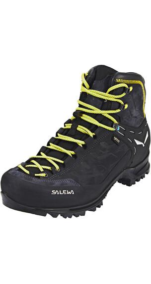 Salewa Rapace GTX Shoes Men Night Black/Kamille
